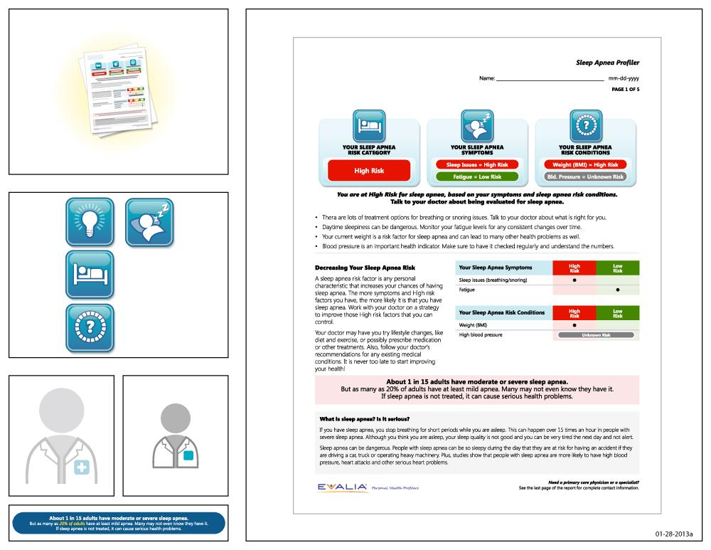 Preview of artwork for EVALIA® Sleep Apnea Profiler